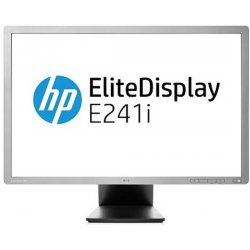 Refurbished HP EliteDisplay E241i 24'' Widescreen LED IPS Panel | Mat | VGA, Displayport, DVI-D 3 x USB